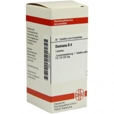 DAMIANA D 4 Tabletten 80 St