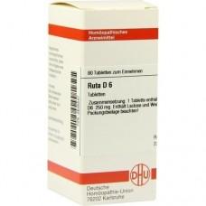 RUTA D 6 Tabletten 80 St