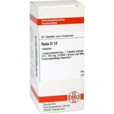 RUTA D 12 Tabletten 80 St