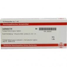 LACHESIS D 8 Ampullen 10X1 ml