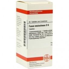 FUCUS VESICULOSUS D 6 Tabletten 80 St