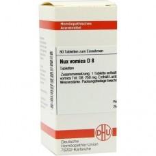 NUX VOMICA D 8 Tabletten 80 St
