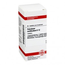 PETROLEUM RECTIFICATUM D 12 Tabletten 80 St