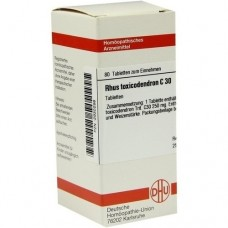 RHUS TOXICODENDRON C 30 Tabletten 80 St