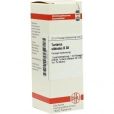 TARTARUS STIBIATUS D 30 Dilution 20 ml
