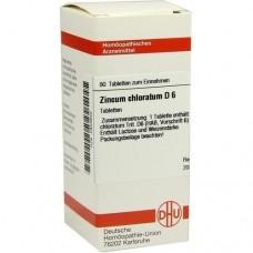 ZINCUM CHLORATUM D 6 Tabletten 80 St