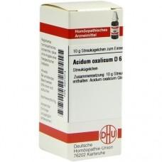 ACIDUM OXALICUM D 6 Globuli 10 g