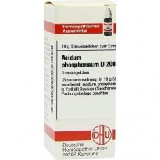 ACIDUM PHOSPHORICUM D 200 Globuli 10 g