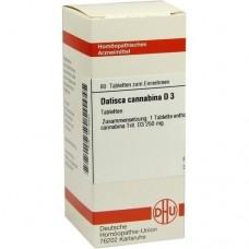 DATISCA cannabina D 3 Tabletten 80 St
