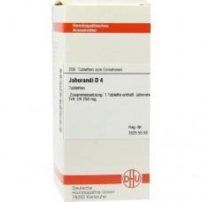 JABORANDI D 4 Tabletten 200 St