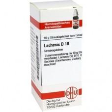 LACHESIS D 10 Globuli 10 g