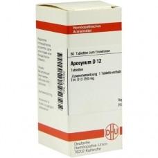 APOCYNUM D 12 Tabletten 80 St