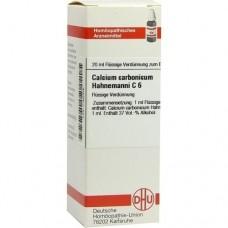 CALCIUM CARBONICUM Hahnemanni C 6 Dilution 20 ml