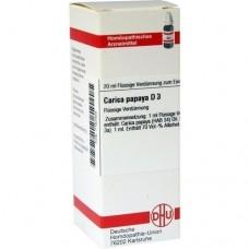 CARICA papaya D 3 Dilution 20 ml