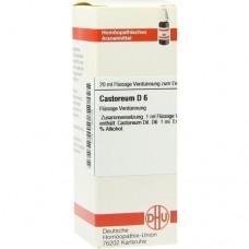 CASTOREUM D 6 Dilution 20 ml