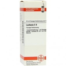 LACHESIS C 6 Dilution 20 ml