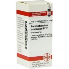 AURUM CHLORATUM NATRONATUM D 12 Globuli 10 g