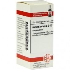 AURUM JODATUM D 12 Globuli 10 g