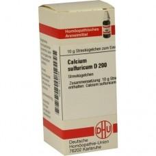 CALCIUM SULFURICUM D 200 Globuli 10 g