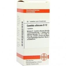 CANDIDA albicans D 12 Tabletten 80 St