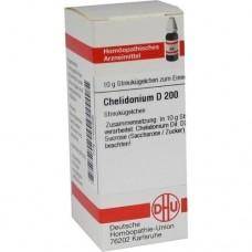 CHELIDONIUM D 200 Globuli 10 g
