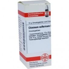 CHININUM SULFURICUM D 30 Globuli 10 g
