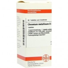 CHROMIUM METALLICUM D 30 Tabletten 80 St