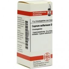 CUPRUM SULFURICUM D 12 Globuli 10 g