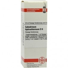 EPHEDRINUM hydrochloricum D 6 Dilution 20 ml