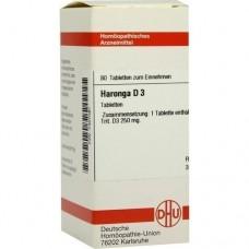 HARONGA D 3 Tabletten 80 St