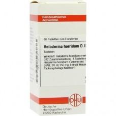 HELODERMA horridum D 12 Tabletten 80 St