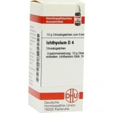 ICHTHYOLUM D 4 Globuli 10 g