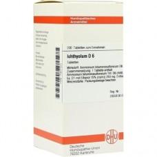 ICHTHYOLUM D 6 Tabletten 200 St