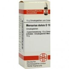 MERCURIUS DULCIS D 10 Globuli 10 g