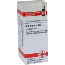 MILLEFOLIUM D 3 Globuli 10 g
