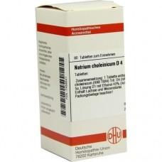 NATRIUM CHOLEINICUM D 4 Tabletten 80 St