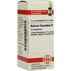 NATRIUM FLUORATUM D 6 Globuli 10 g