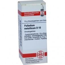 PALLADIUM METALLICUM D 10 Globuli 10 g