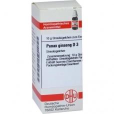 PANAX GINSENG D 3 Globuli 10 g