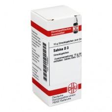 SABINA D 3 Globuli 10 g