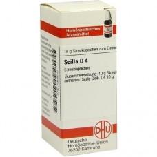 SCILLA D 4 Globuli 10 g