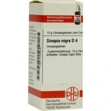 SINAPIS NIGRA D 4 Globuli 10 g