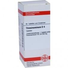 THIOSINAMINUM D 4 Tabletten 80 St