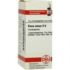 VINCA MINOR D 6 Globuli 10 g