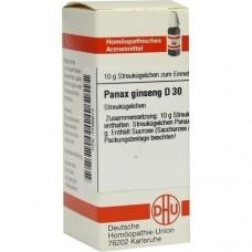 PANAX GINSENG D 30 Globuli 10 g