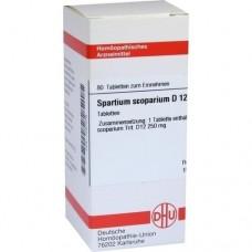 SPARTIUM SCOPARIUM D 12 Tabletten 80 St