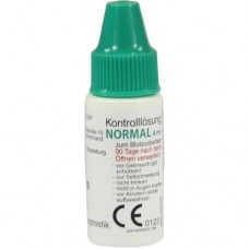 GLUCO TEST Plus Kontrolllösung normal 4 ml
