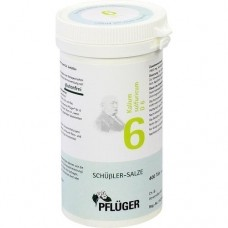 BIOCHEMIE Pflüger 6 Kalium sulfuricum D 6 Tabl. 400 St