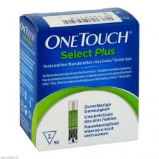 ONE TOUCH Select Plus Blutzucker Teststreifen 50 St