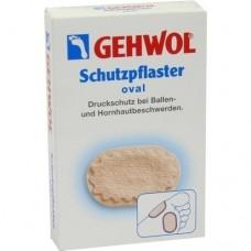 GEHWOL Schutzpflaster oval 4 St